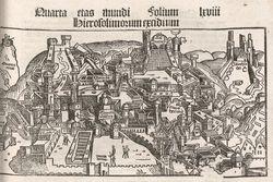 Zicht op Jeruzalem en Bethlehem (inc. 11)