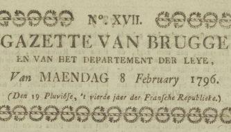 De Gazette vanBrugge