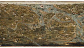 De kaart van de Zwinstreek