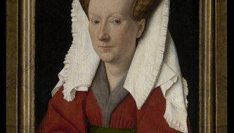 Portret van Margareta vanEyck