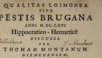 Pestis Brugana van Montanus