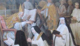 De kroning van een kartuizerin