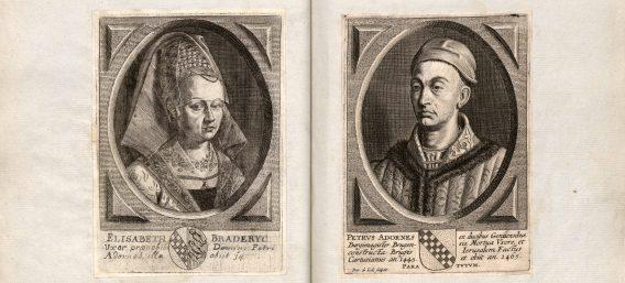 Pieter Le Doulx over vermaarde Bruggelingen. Biografieën tot 1800