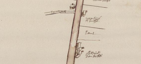 Onderweg van Steenbrugge naar Ingelmunster. De 18de-eeuwse kaart van een steenweg